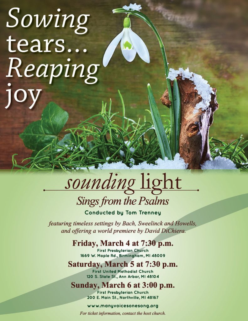 Sowing tears…Reaping joy Poster