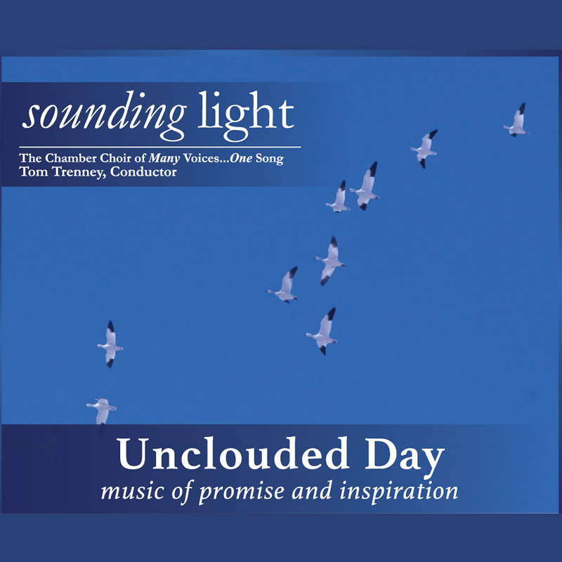 Unclouded Day CD Cover